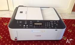 Canon printer with scanner. Rarely used and very clean.