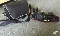 Canon 600D SLR camera for sale, perfect condition only