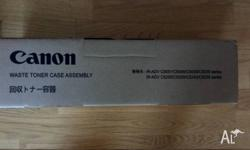 Genuine canon waste toner assembley.