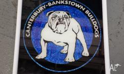 Vintage Canterbury Bankstown framed picture. Very good