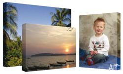 Create a canvas print from your favourite photo! Ready