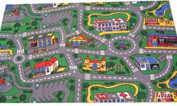 Car city road mat/rug. Great for the boys room! Good