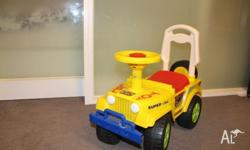Attractive car for kids to play indoor or outdoor it