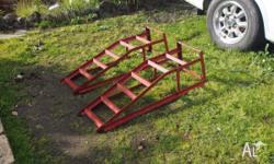 car ramps for sevicing your car $60 ono in good