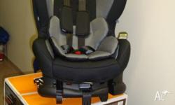 Car Seat as new only used by Grandma for 1 month!!!
