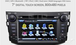 Car Stereo Multimedia GPS Navigation for Toyota RAV4
