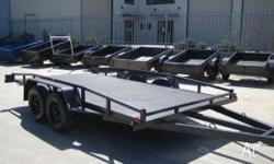 CAR TRAILERS ALL TYPES & SIZES IN STOCK READY. TO GO.