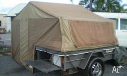 CARAC CAMPER TRAILER, 2002, GREY, Box Trailer, BUDGET
