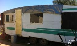 19ft Caravan with 3and a half ft Arm Bar This Caravan