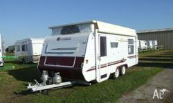 CARAVAN - CANTERBURY SIGNATURE SERIES 17ft 6, 2002,