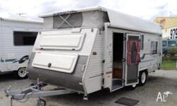 Caravan COROMAL Excel 535, 2002, Pop Top, REDUCED FROM
