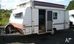 CARAVAN FLINDERS POP TOP, 1994, 1994 15' Flinders Pop