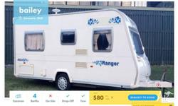 Type: Caravan Model: bailey Ranger Year: 2006 Berths:
