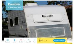Type: Caravan Model: Ranger Rambler Year: 2009 Berths: