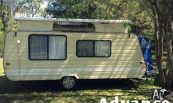 Advance Caravan 1990 Pop top In very good condition New