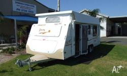 CARAVAN - JAYCO DESTINY 18ft 5 x 7ft 6 Destiny, 2007,