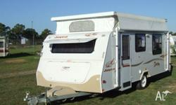 CARAVAN - JAYCO Destiny Front Kitchen 16' Single Axle,