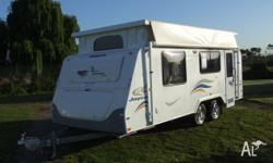 CARAVAN - JAYCO DISCOVERY POP TOP Shower & Toiilet