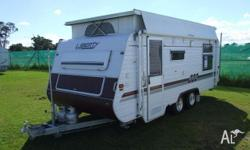 CARAVAN - LIBERTY CARAVAN TANDEM POP TOP Island Double