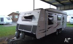 CARAVAN - OLYMPIC TRUSTAR 6.4M - FULL REAR ENSUITE