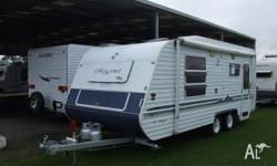 CARAVAN - REGENT SERIES 3 Island Double Bed. Series 3,