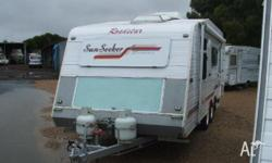 CARAVAN ROADSTAR SUN SEEKER, 2003, Double Island Bed,
