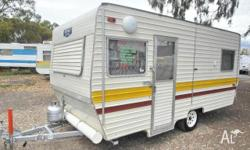 CARAVAN Roma Twin Single Beds, 1984, Stock #105,