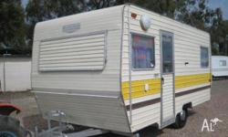 CARAVAN Roma Twin single beds, 1984, Stock #114,