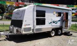 caravan Scenic Galaxy Outerlimits Off Road, 2009,