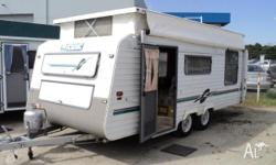 Caravan Scenic Poptop Custom, 1998, Pop Top, Tandem