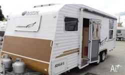 Caravan Scenic Rigel, 2010, Caravan, $61,000 Reduced to