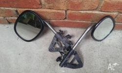 Extending Mirrors to fit onto existing car mirrors,