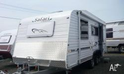"Caravans Safari Delta 19'6"" Full Ensuite, 2010, White,"