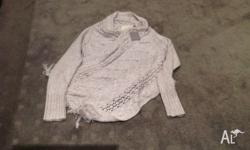 American Anthropologie brand cardigan with in built