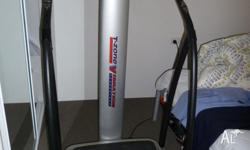 CardioTech VT-12 Vibration Machine with manual and