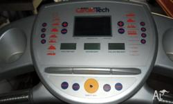 cardiotech x7 treadmill in good condition everything