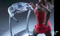 Get in shape with this Cardiotech Treadmill that comes