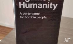 Cards Against Humanity is a party game for horrible