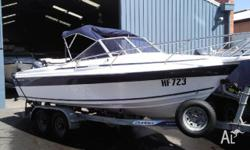 CARIBBEAN (F/glass) BELMONT, 2003, RUNABOUT, 5.46m x