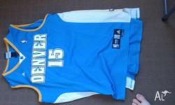 For sale is a large carmelo anthony denver nuggets nba