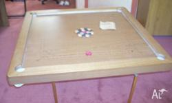 arge Carrom Board. Play surface 90�90 cms. Complete