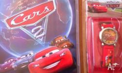 Cars 2 DVD and brand new Cars Watch
