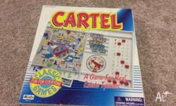 Cartel board game In good condition Ages 5+ 4Kidz A