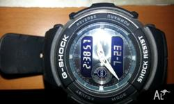 Up for sale is a casio g shock watch that has been