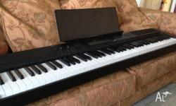 88 note weighted hammer action keyboard in great
