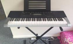 Hi I am selling my brand new CASIO CTK4400 with all
