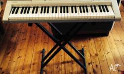 Selling rarely used Casio Keyboard and Keyboard Stand!