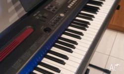 For sale is a Casio WK110 keyboard and compatible SP-3