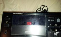 Vector Research Sterio Cassette Deck Mod.VCX-450 made
