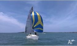 BLADE RUNNER SAIL NO 112 A well maintained yacht in
